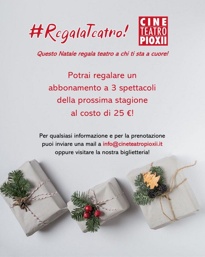 #RegalaTeatro